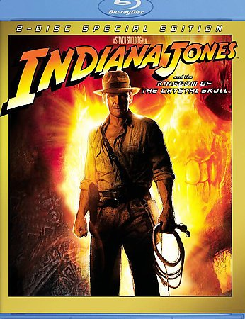 Indiana Jones and the Kingdom of the Crystal Skull [Blu-ray] cover