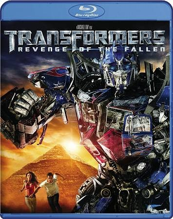 Transformers: Revenge of the Fallen (INTL) [Blu-ray] cover