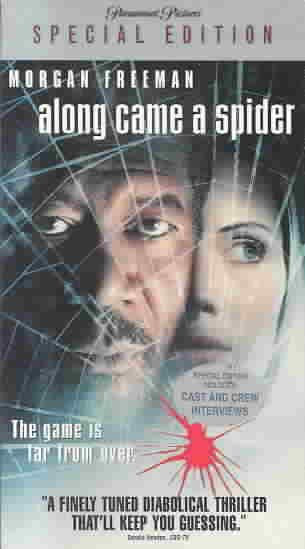 Along Came a Spider [VHS] cover