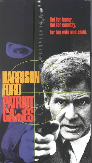 Patriot Games [VHS] cover