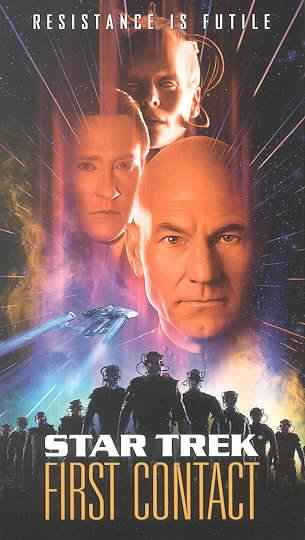 Star Trek - First Contact [VHS] cover