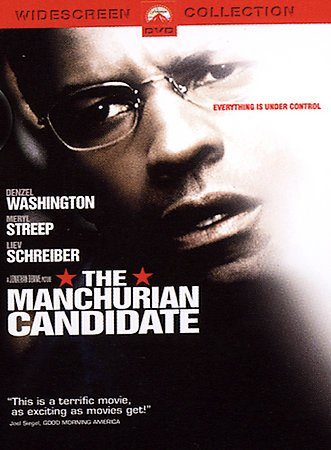 The Manchurian Candidate (Widescreen Edition) cover