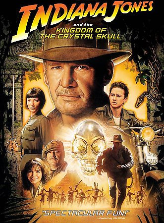 Indiana Jones and the Kingdom of the Crystal Skull (Single-Disc Edition) cover