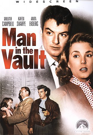 MAN IN THE VAULT cover
