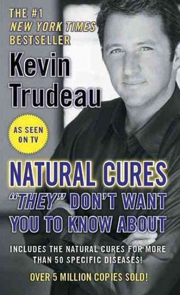 "Natural Cures """"They"""" Don't Want You To Know About cover"