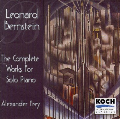 Bernstein: The Complete Works for Solo Piano cover