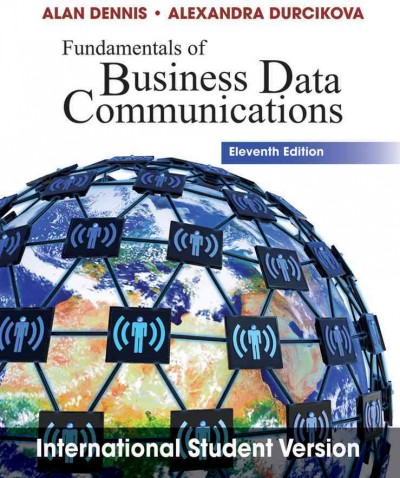 Fundamentals of Business Data Communications cover