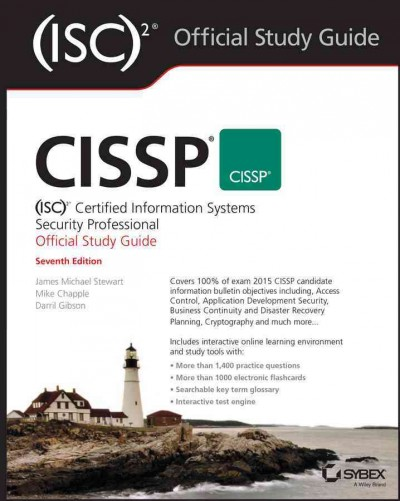 CISSP (ISC)2 Certified Information Systems Security Professional Official Study Guide cover