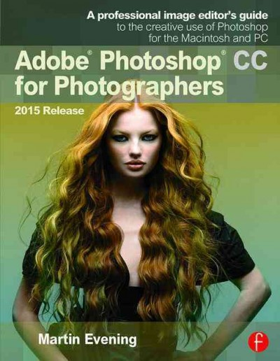 Adobe Photoshop CC for Photographers, 2015 Release cover