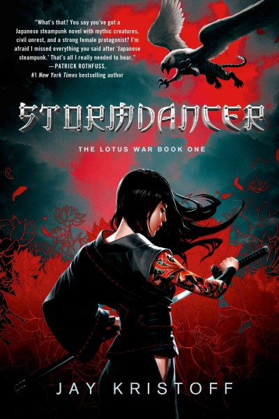 Stormdancer: The Lotus War Book One cover