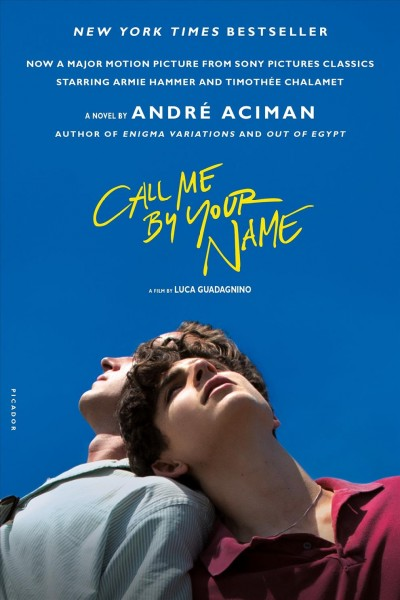 Call Me by Your Name: A Novel cover