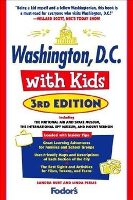 Fodor's Washington, D.C. with Kids, 3rd Edition (Travel Guide) cover