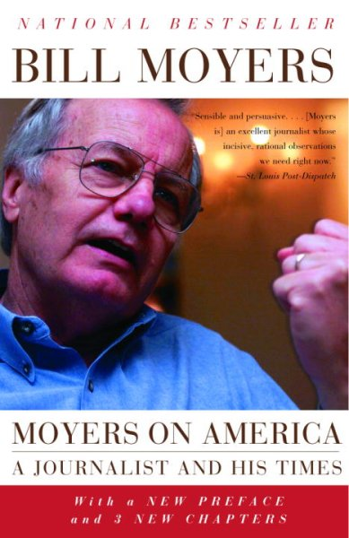 Moyers on America: A Journalist and His Times cover