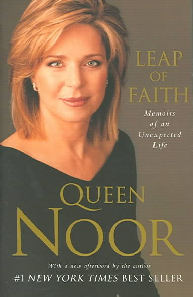 Leap of Faith: Memoirs of an Unexpected Life cover