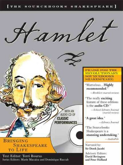Hamlet (The Sourcebooks Shakespeare; Book & C D) cover