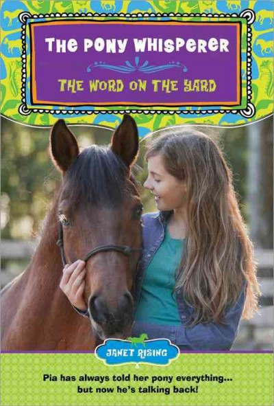 The Pony Whisperer: The Word on the Yard cover