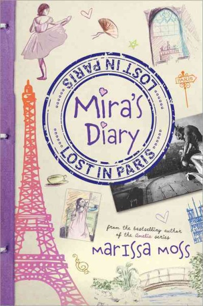 Mira's Diary: Lost in Paris cover