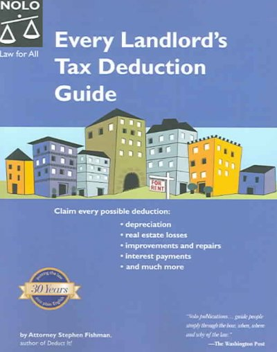 Every Landlord's Tax Deduction Guide cover