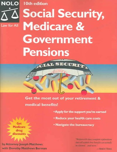 Social Security, Medicare & Government Pensions cover