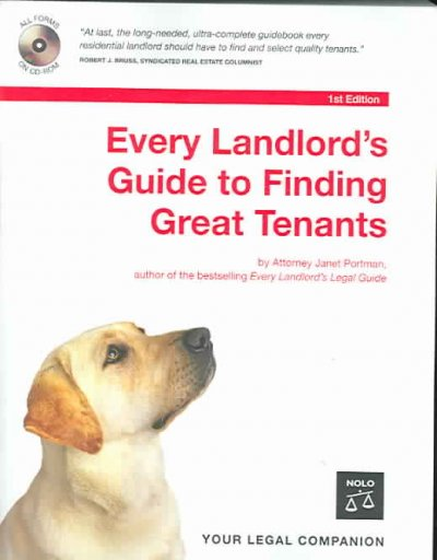Every Landlord's Guide to Finding Great Tenants cover