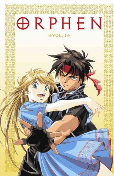 Orphen Volume 1 cover