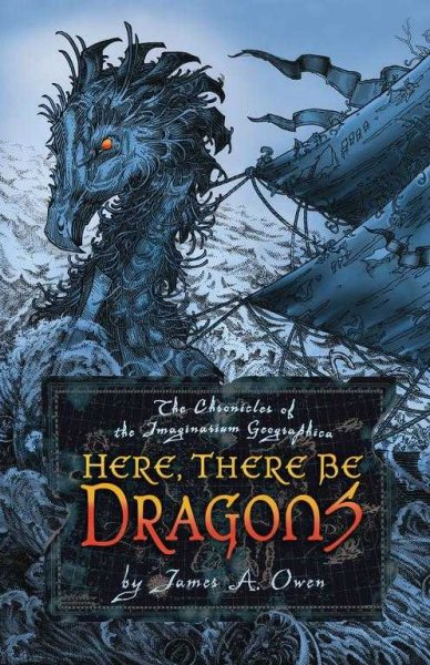 Here, There Be Dragons (1) (Chronicles of the Imaginarium Geographica, The) cover