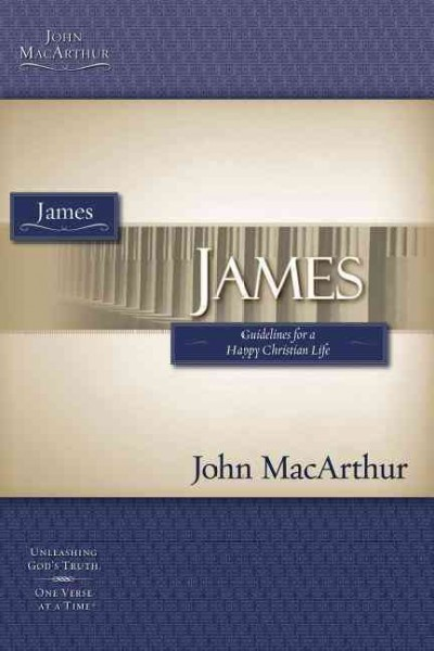 James (Macarthur Study Guide) cover