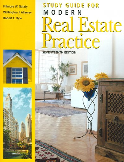 Study Guide for Modern Real Estate Practice cover