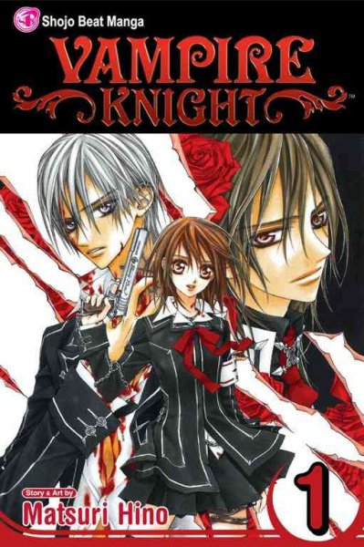Vampire Knight, Volume 1 cover