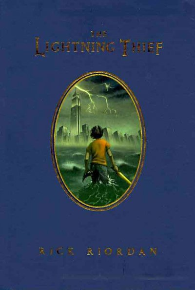 The Lightning Thief (Percy Jackson and the Olympians, Book 1) (Deluxe Edition) cover
