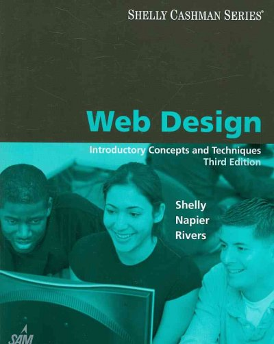 Web Design: Introductory Concepts and Techniques (Available Titles Skills Assessment Manager (SAM) - Office 2010) cover