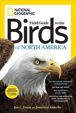 National Geographic Field Guide to the Birds of North America, Sixth Edition (National Geographic Field Guide to Birds of North America) cover