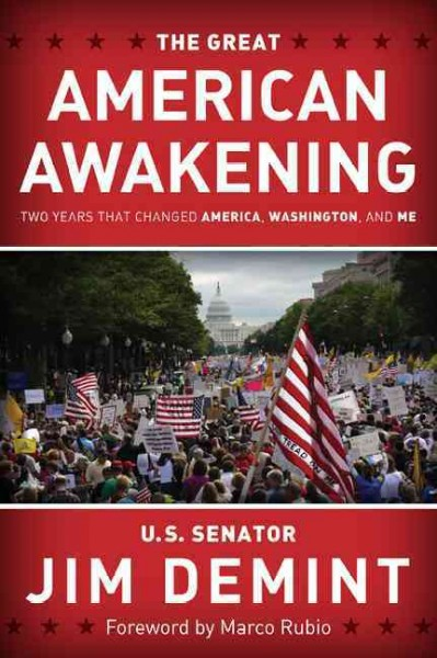 The Great American Awakening: Two Years that Changed America, Washington, and Me cover