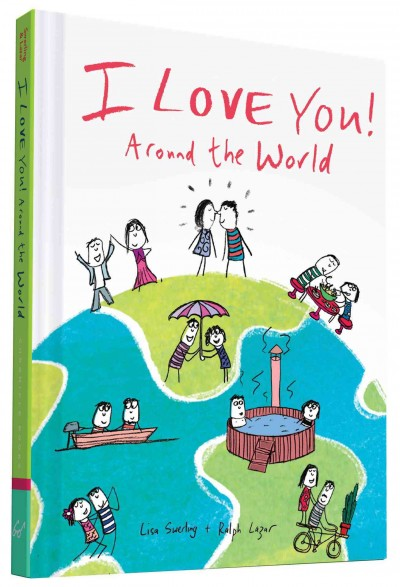 I Love You Around the World cover