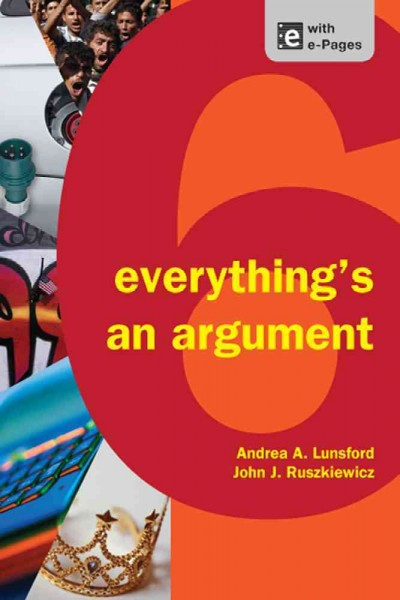 Everything's an Argument cover