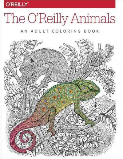 The O'Reilly Animals: An Adult Coloring Book cover