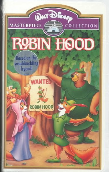 Walt Disney Productions' Robin Hood - The Original Animated Classic cover