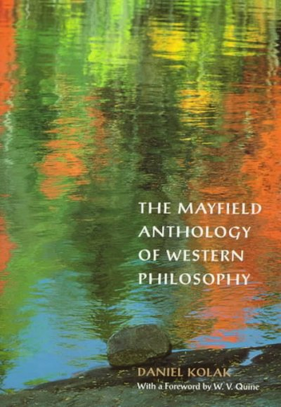 Mayfield Anthology Of Western Philosophy cover