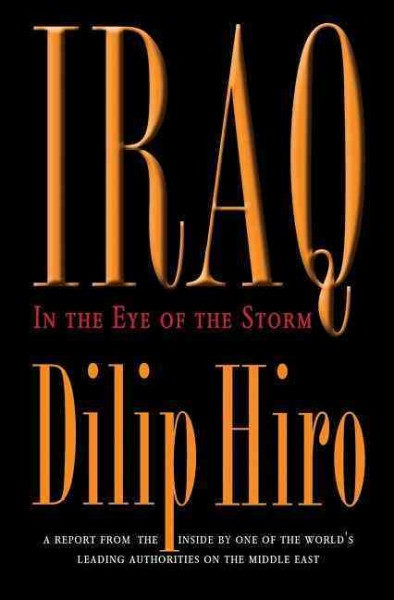 Iraq: In the Eye of the Storm cover