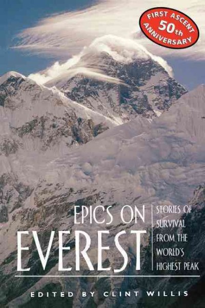 Epics on Everest: Stories of Survival from the World's Highest Peak (Adrenaline) cover