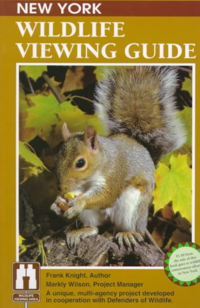 New York Wildlife Viewing Guide (Wildlife Viewing Guides Series) cover