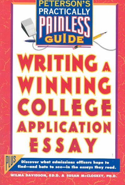 Writing a Winning College Application Essay cover