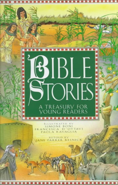 Bible Stories: A Treasury for Young Readers cover