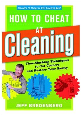 How to Cheat at Cleaning cover