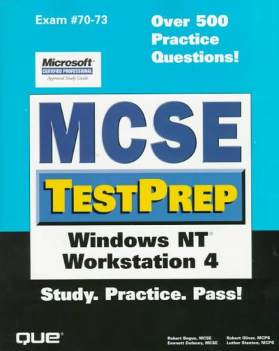 McSe Testprep: Windows Nt Workstation 4 cover