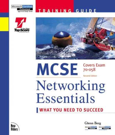 McSe Networking Essentials: Training Guide : Exam 70-058 cover