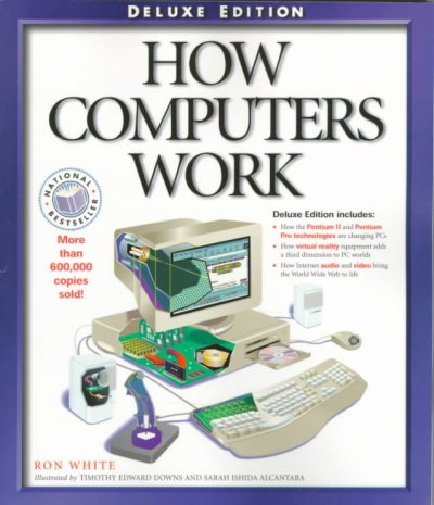 How Computers Work (How It Works (Ziff-Davis/Que)) cover