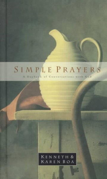 Simple Prayers: A Daybook of Conversations With God cover