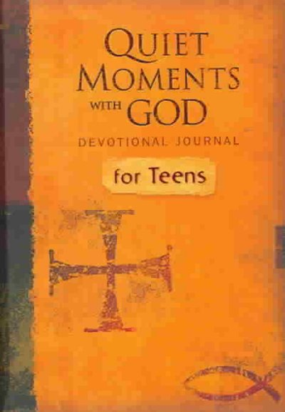Quiet Moments with God Devotional Journal for Teens cover