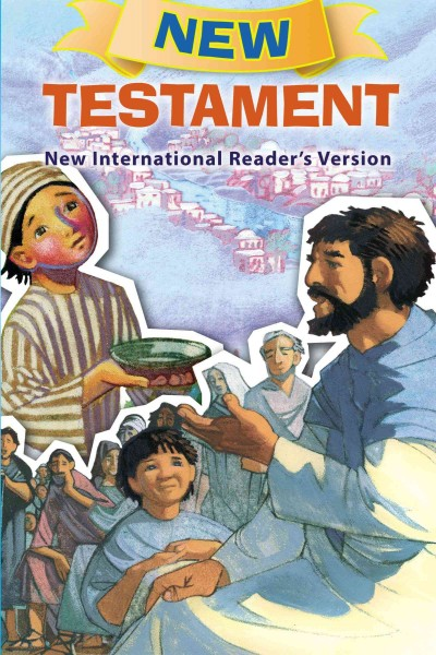 NIrV, New Testament for Children, Paperback cover